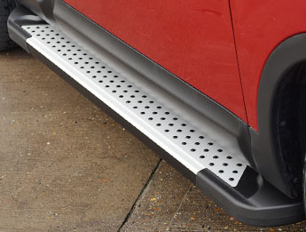 Rufford Style Aluminium Side Step - Renault Captur 2013>
