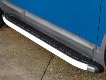 Clumber Style Aluminium Side Step - Ford Ranger 2011>