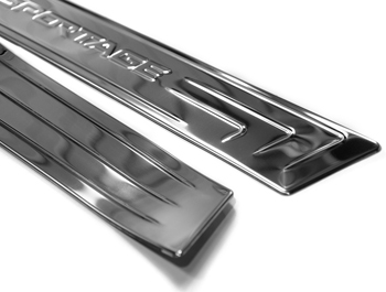 Polished S.Steel Door Sill Covers - Kia Sportage III 2010 - 2015