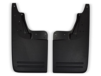 VW Amarok Genuine OE Flared Arch Rear Mud Flaps