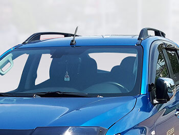 Black Aluminium Roof Bars - Mitsubishi L200 2015>