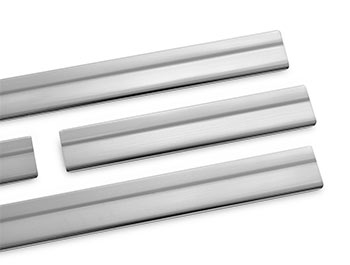 Brushed Stainless Steel Door Sill Covers - Nissan X-Trail 2014>