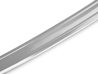 Polished Stainless Steel Bumper Protector - Nissan Qashqai+2