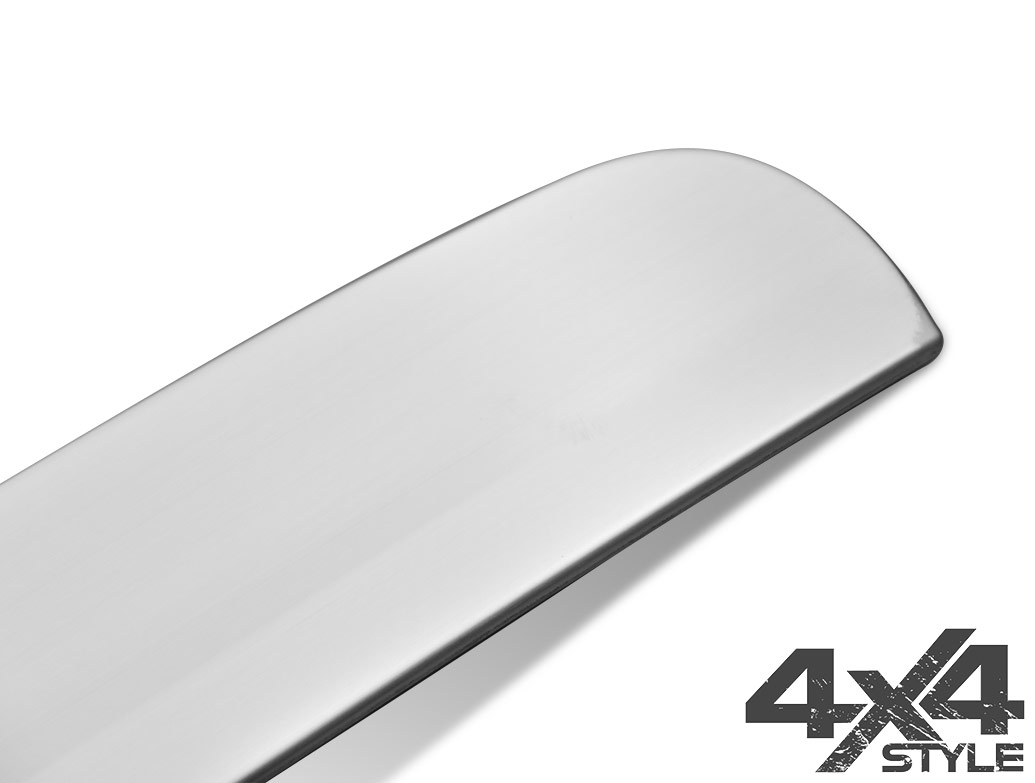 Brushed Stainless Steel Rear Grab Handle - Nissan Qashqai 07>14