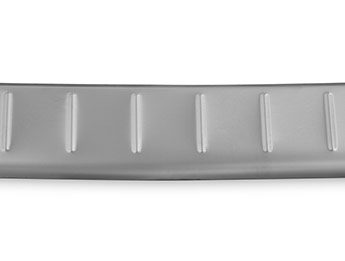 Brushed Stainless Steel Bumper Protector - Nissan Juke 2014>