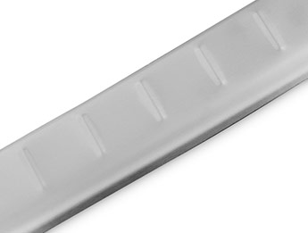 Brushed Stainless Steel Bumper Protector - Nissan Qashqai 14-17