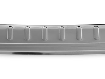 Polished Stainless Steel Bumper Protector - Nissan X-Trail 2014>