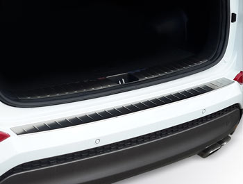 Brushed Stainless Steel Bumper Protector - Hyundai Tucson 2015>