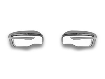 Chrome ABS Mirror Covers - Nissan Juke/Qashqai/X-Trail