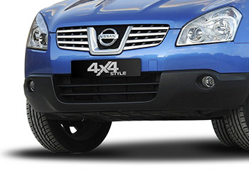 Polished S.Steel Front Grille Trim Set - Nissan Qashqai 07-10