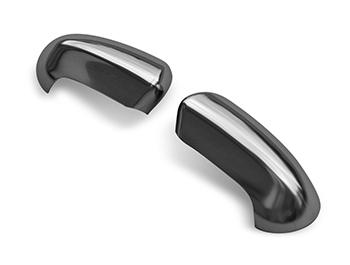 Satin Chrome ABS Mirror Covers - Nissan Qashqai 07>14