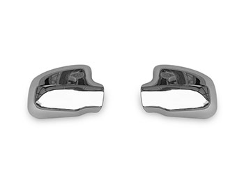 Polished Stainless Steel Wing Mirror Covers - Dacia Duster 2012>