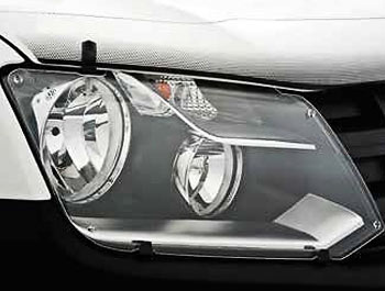 Genuine VW Amarok Acrylic Headlight Protectors - 2011 Onward