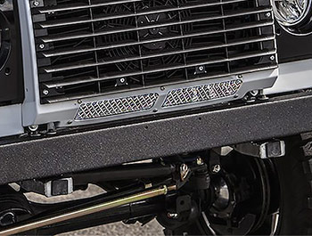 Zunsport Polished Stainless Lower Front Grille - LR Defender 07>