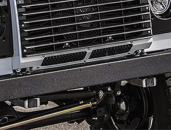 Zunsport Black Nylon Coated Lower Front Grille - LR Defender 07>