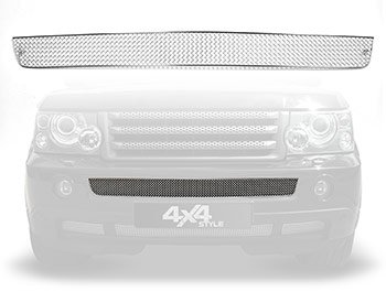 Zunsport Polished Stainless Centre Front Grille - RR Sport 06-09