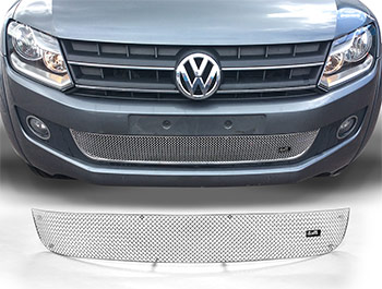 Zunsport Polished Chrome Lower Grille - VW Amarok 10-16