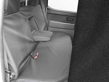 Tailored Fit Rear Bench Black Seat Cover Set - Ford Ranger 06-11