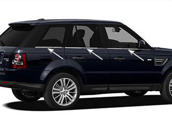 Stainless Steel Window Trim Lines - Range Rover Sport 05>13