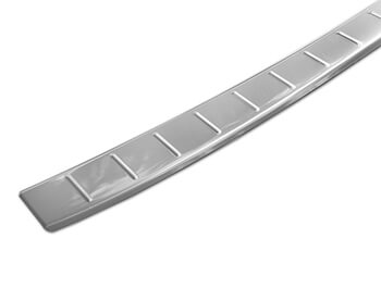 Polished Stainless Steel Rear Bumper Protector - Honda CRV 17>
