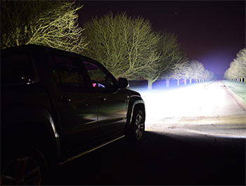 Lazer Triple-R 750 - LED Spot Light - VW Amarok V6 16> Twin Kit