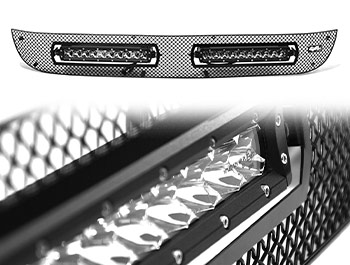 Zunsport Black Nylon Grille + 10in Wilderness - Amarok 10-16