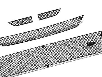 Zunsport Black Nylon Coated Full Grille Set - Isuzu D-Max 2017>