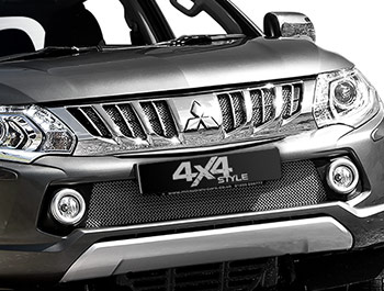 Zunsport Polished Chrome Grille Set - Mitsubishi L200 15>
