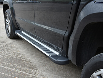 Sherwood Style Aluminium Side Step - VW Amarok 2010>