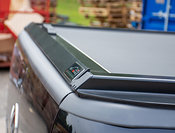 Black Roller Shutter Load Bed Protector Cover - Ford Ranger 11>