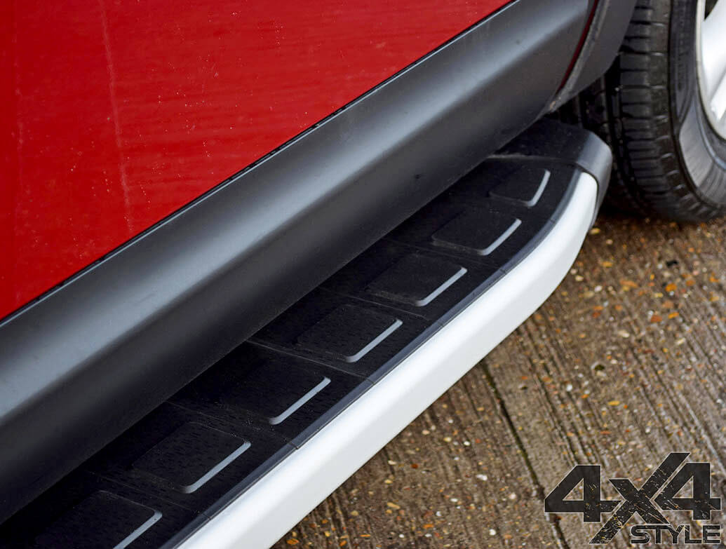 Clumber Style Aluminium Side Step - Nissan X-Trail 07-14