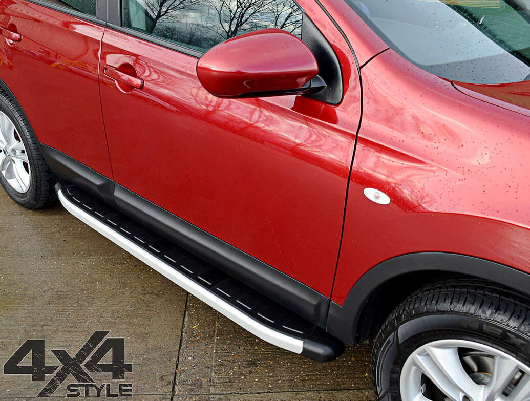 Clumber Style Aluminium Side Step - Dodge Journey 08-11