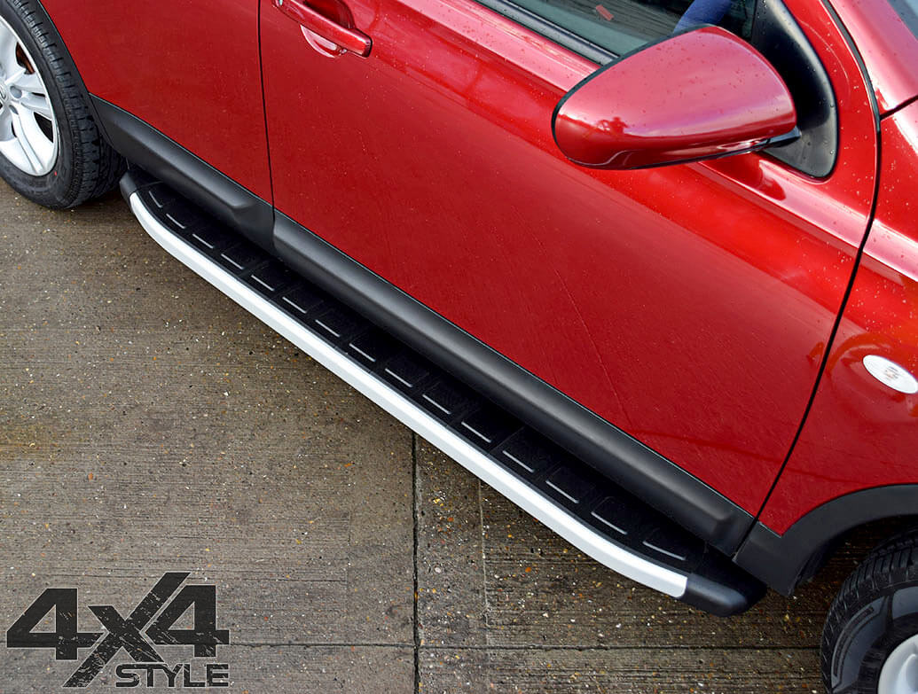 Clumber Style Aluminium Side Step - Dacia Duster 2012>