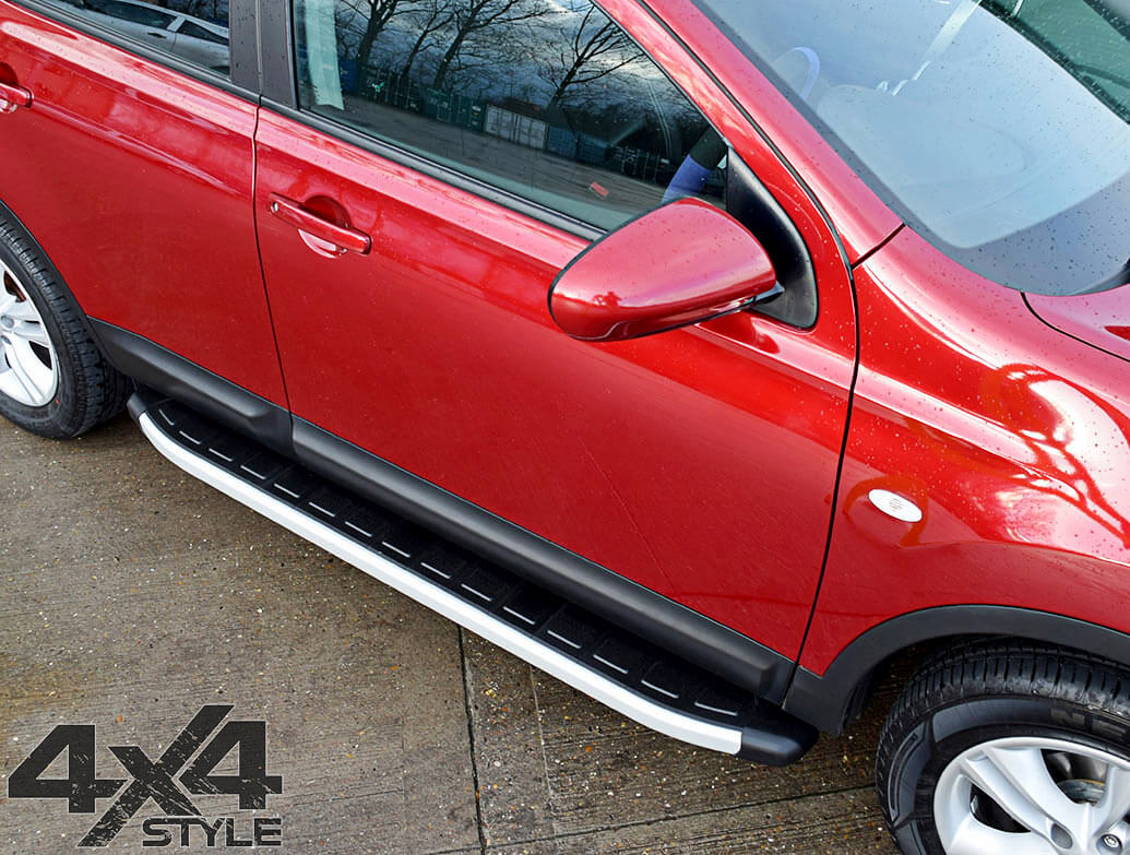 Clumber Style Aluminium Side Step - Renault Captur 2013>