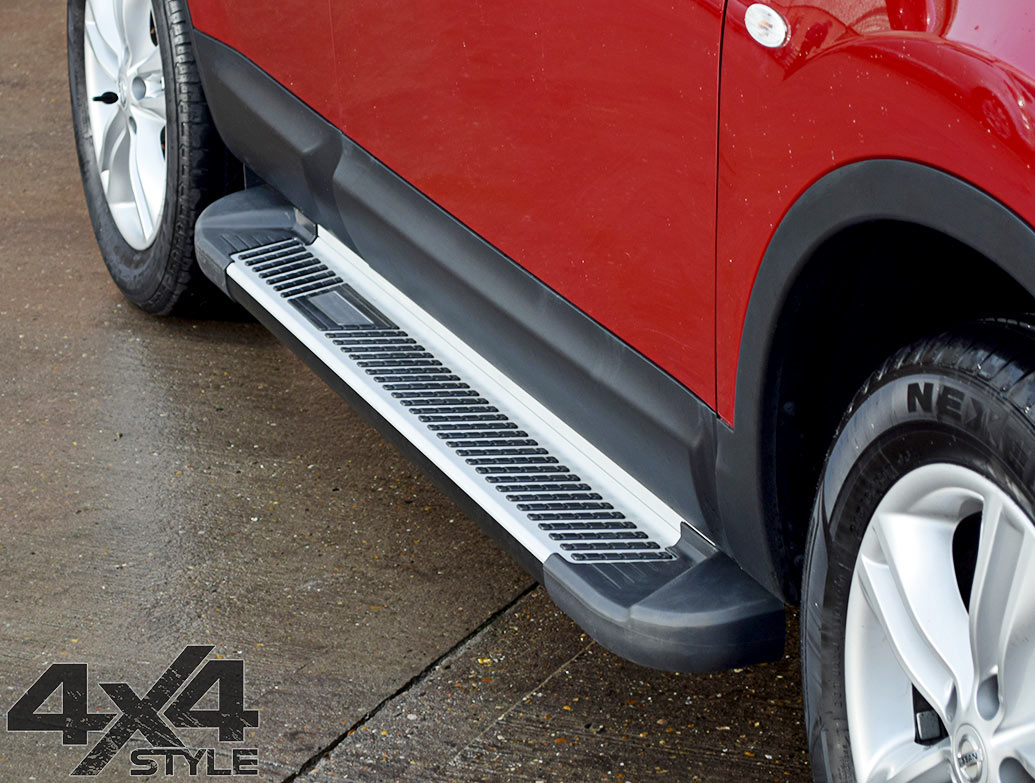 Sherwood Style Aluminium Side Steps - Jeep Renegade 2014>
