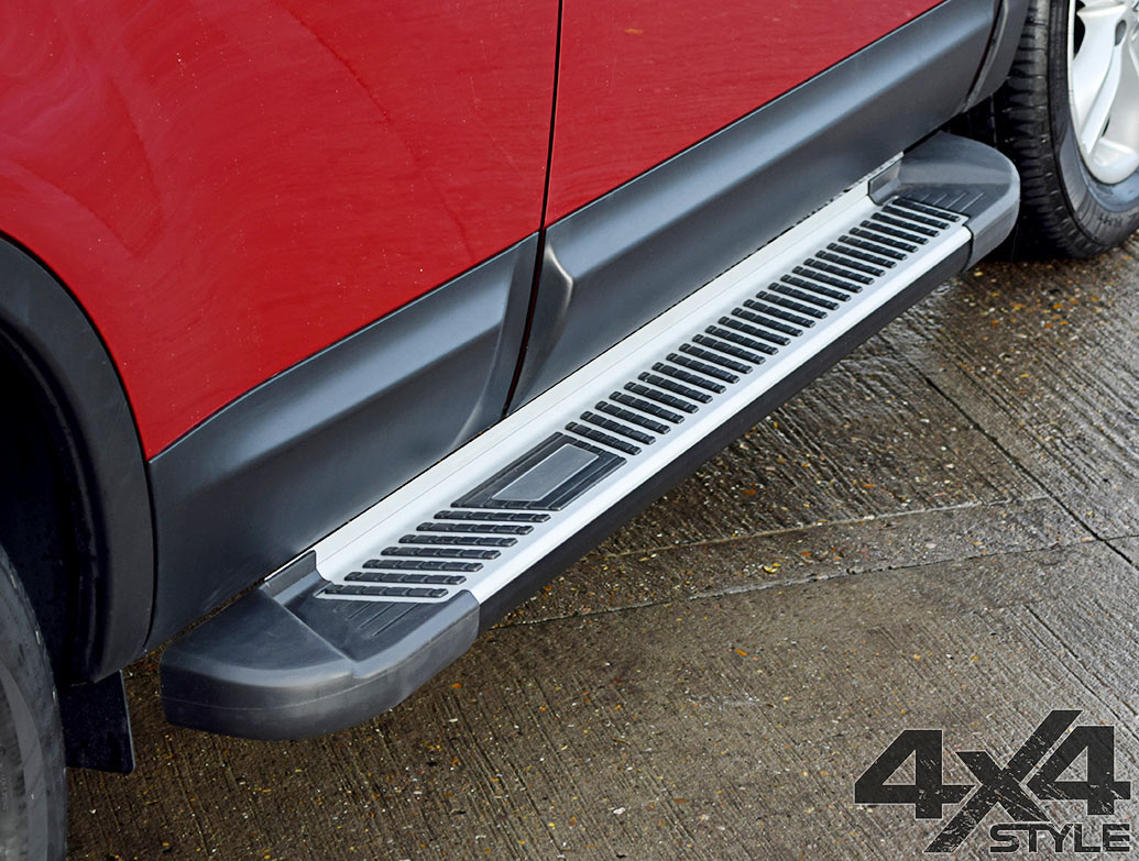 Sherwood Style Aluminium Side Steps - Renault Captur 2013>