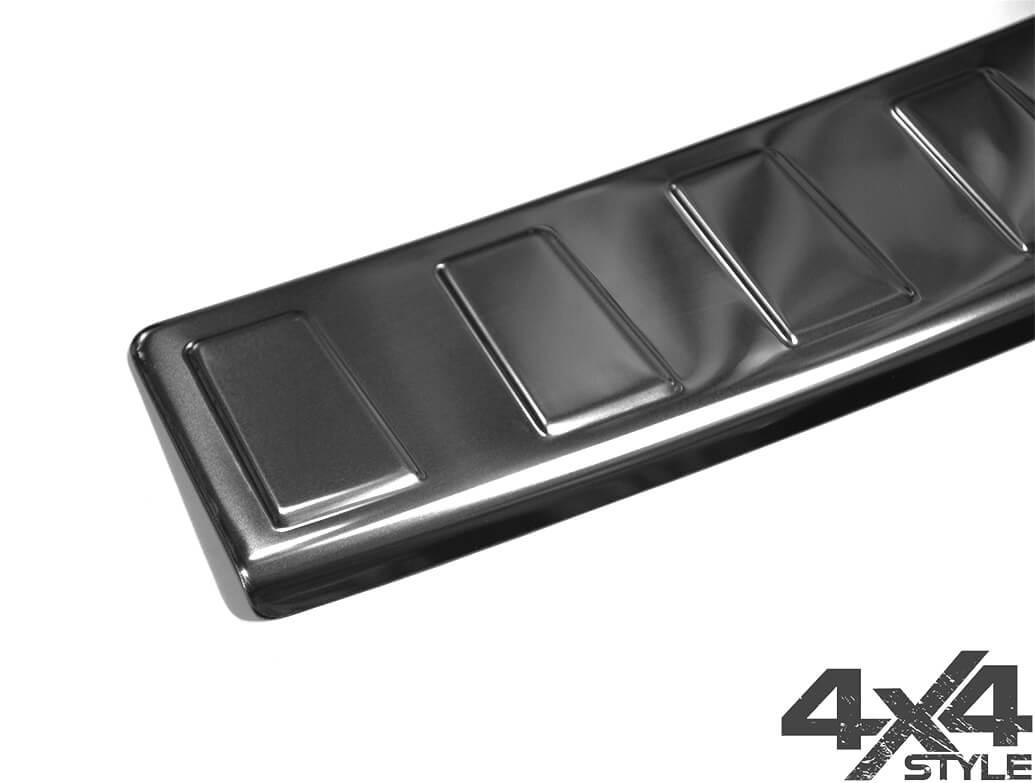 Polished Rear Bumper Sill Cover - Vauxhall Mokka 2012>