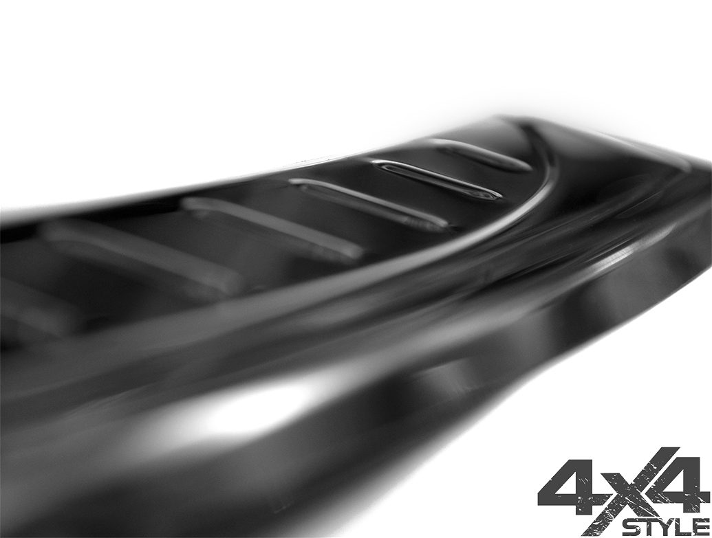Polished Stainless Steel Bumper Protector - Seat Ateca 2016>