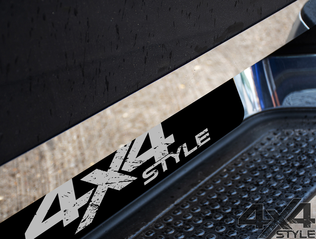 Polished Stainless Steel Tailgate Trim Line - VW Amarok 2010>