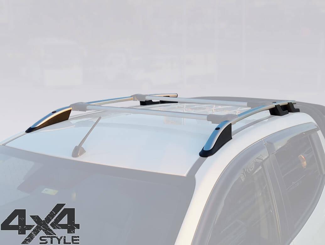 Silver Aluminium Roof Bars - Mitsubishi L200 2015>