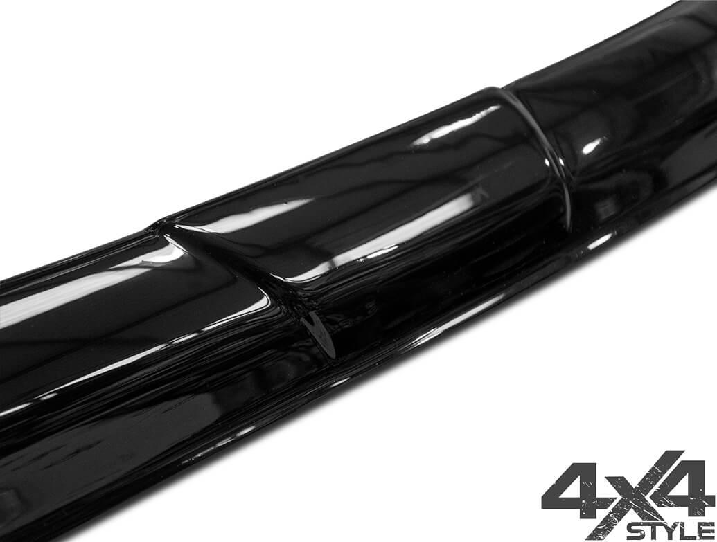 Gloss Black Acrylic Bonnet Deflector - Isuzu D-Max 2012>