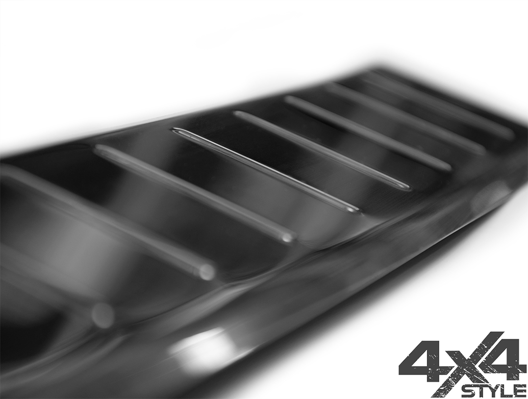 S.Steel Rear Bumper Protector - Vauxhall Crossland X 2017>