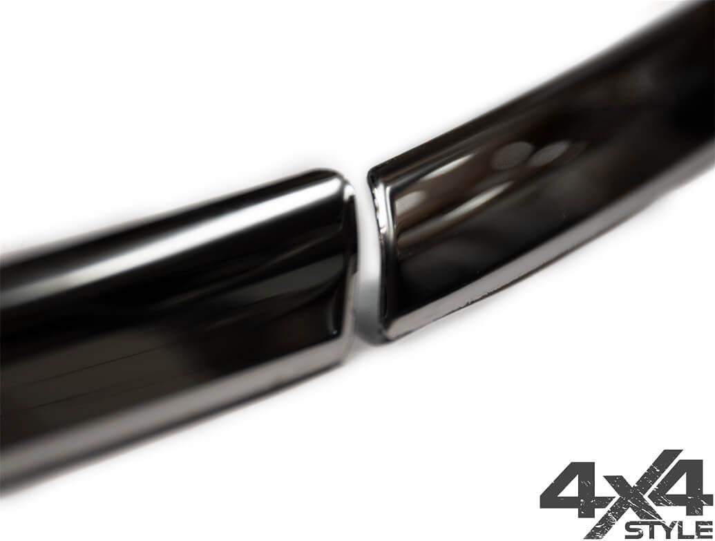 3-Piece S.Steel Upper Headlight & Grille Trim – VW Tiguan 2016>