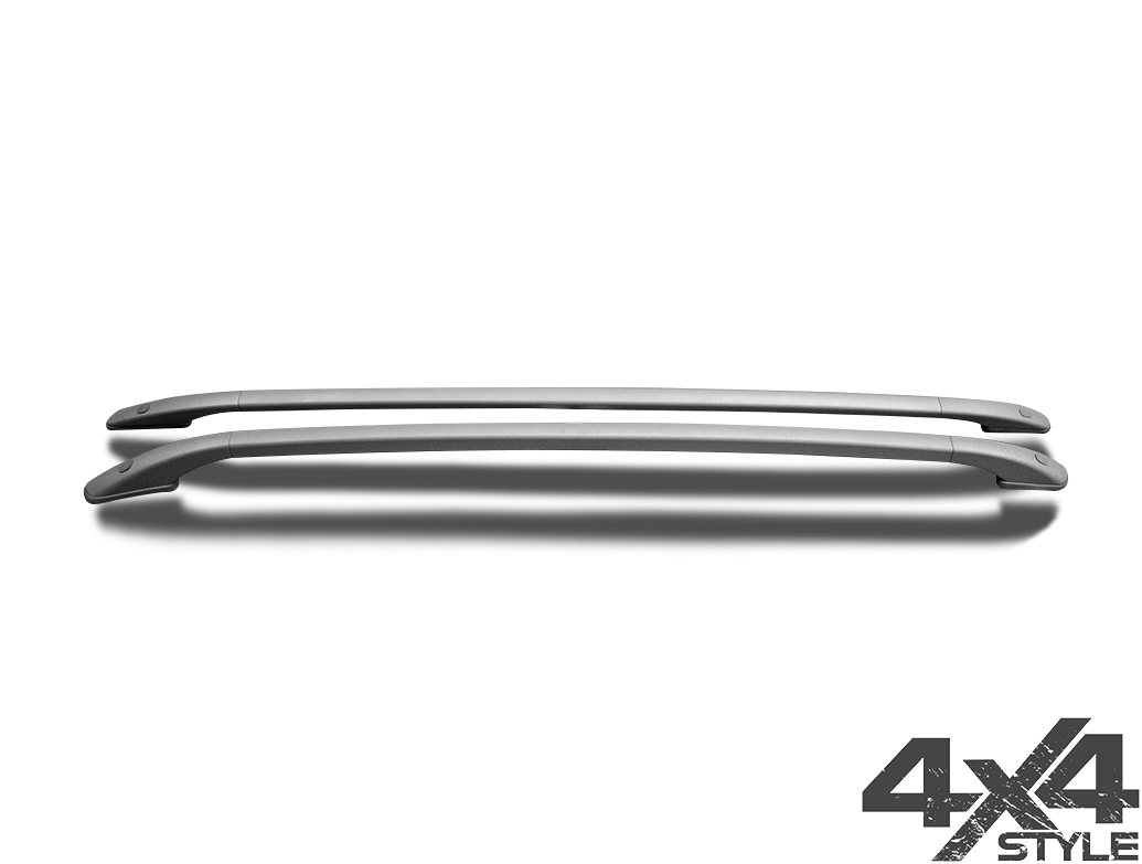 Satin Silver Aluminium Roof Bars - Ford Kuga II 12-19