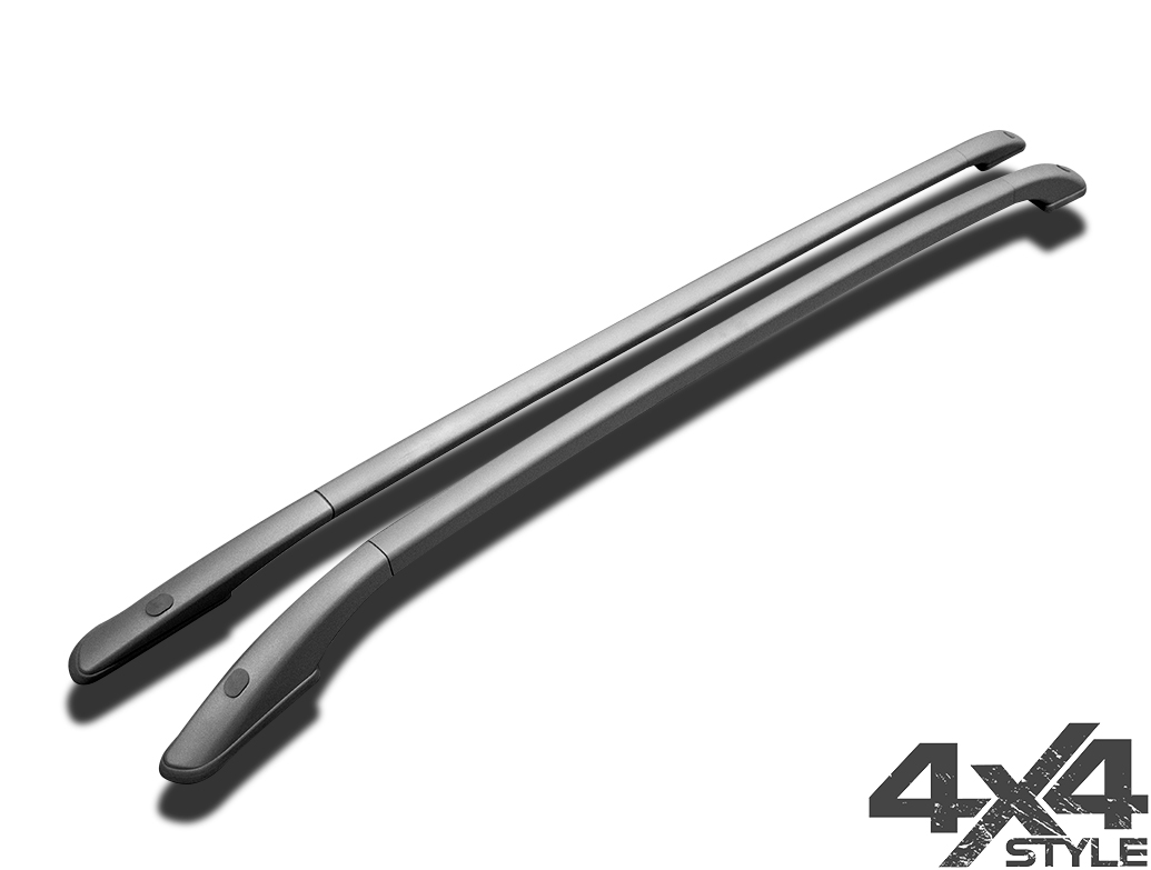 Satin Silver Aluminium Roof Bars - Ford Kuga II 12-19