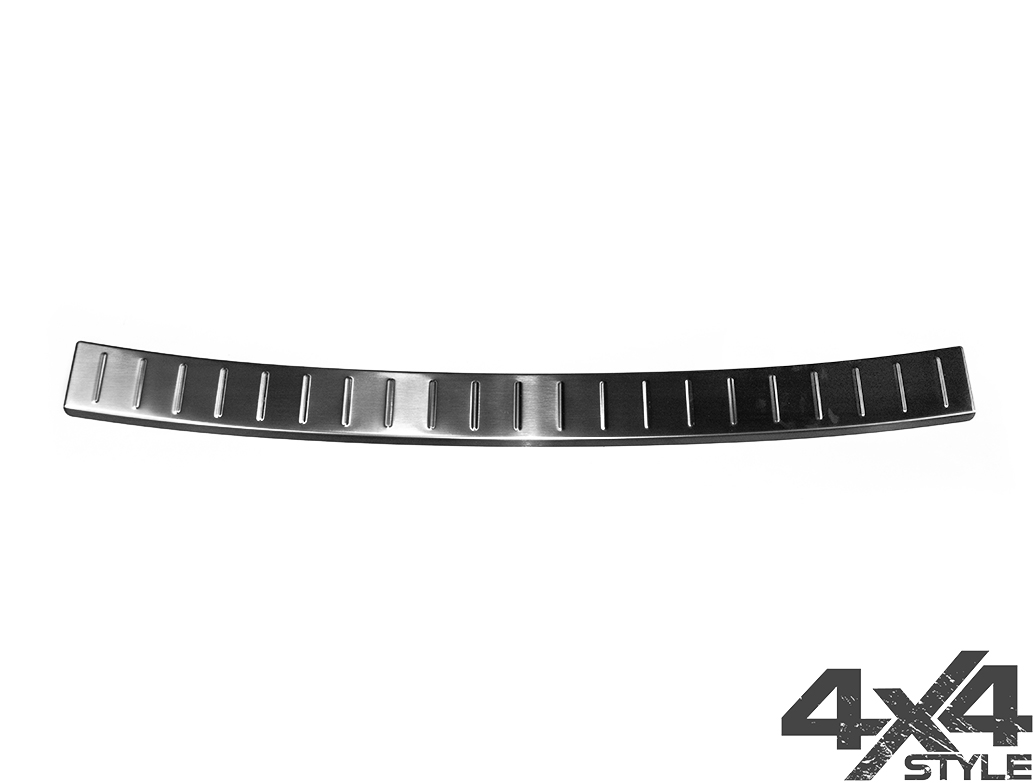 Brushed Stainless Steel Rear Bumper Protector - BMW X1 F48 15>