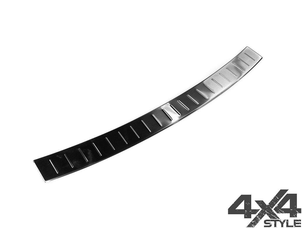 Brushed Stainless Steel Rear Sill Cover - BMW X5 M 2013>