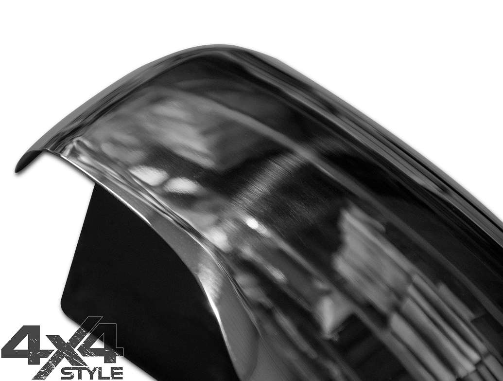 Polished Stainless Steel Mirror Covers - Nissan Navara 2016>
