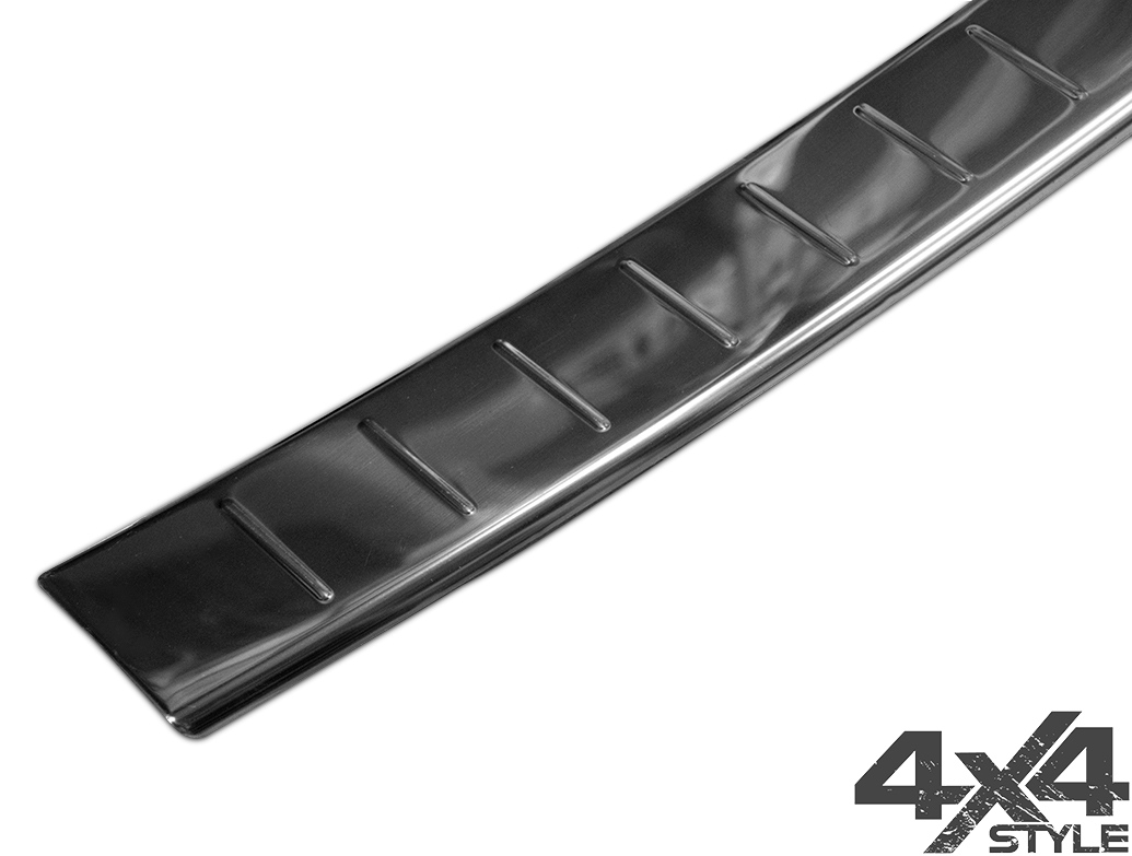 Polished Stainless Steel Rear Bumper Protector - Volvo XC60 17>