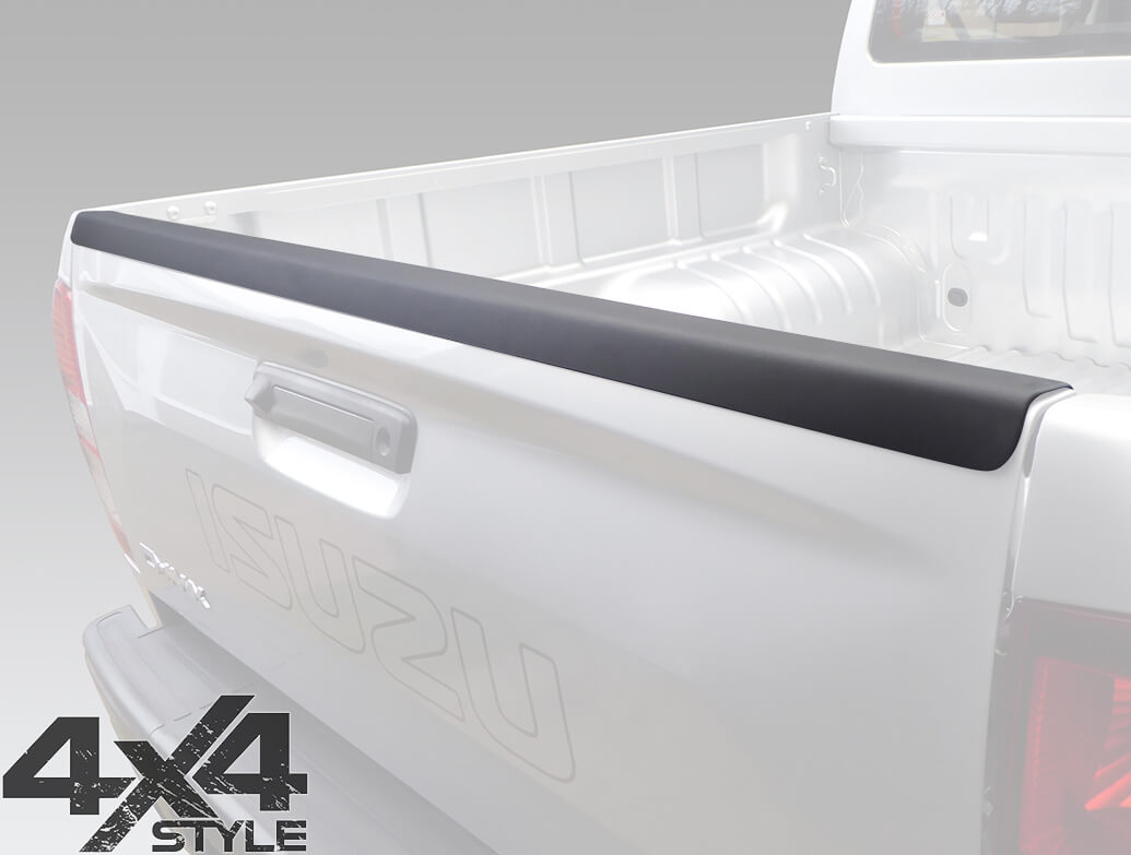 ABS Rear Tailgate Bed Rail Protector - D-Max 2015>